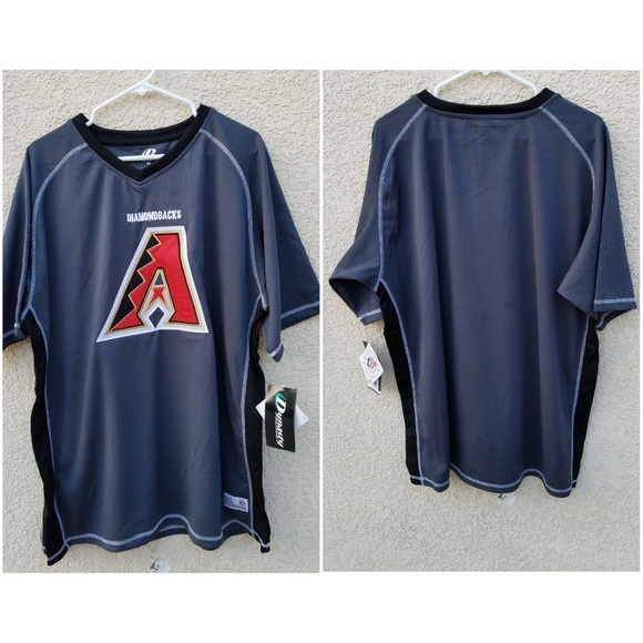wholesale dealer 00936 1a6db MLB Dynasty Arizona Diamondbacks Jersey T-shirt NWT